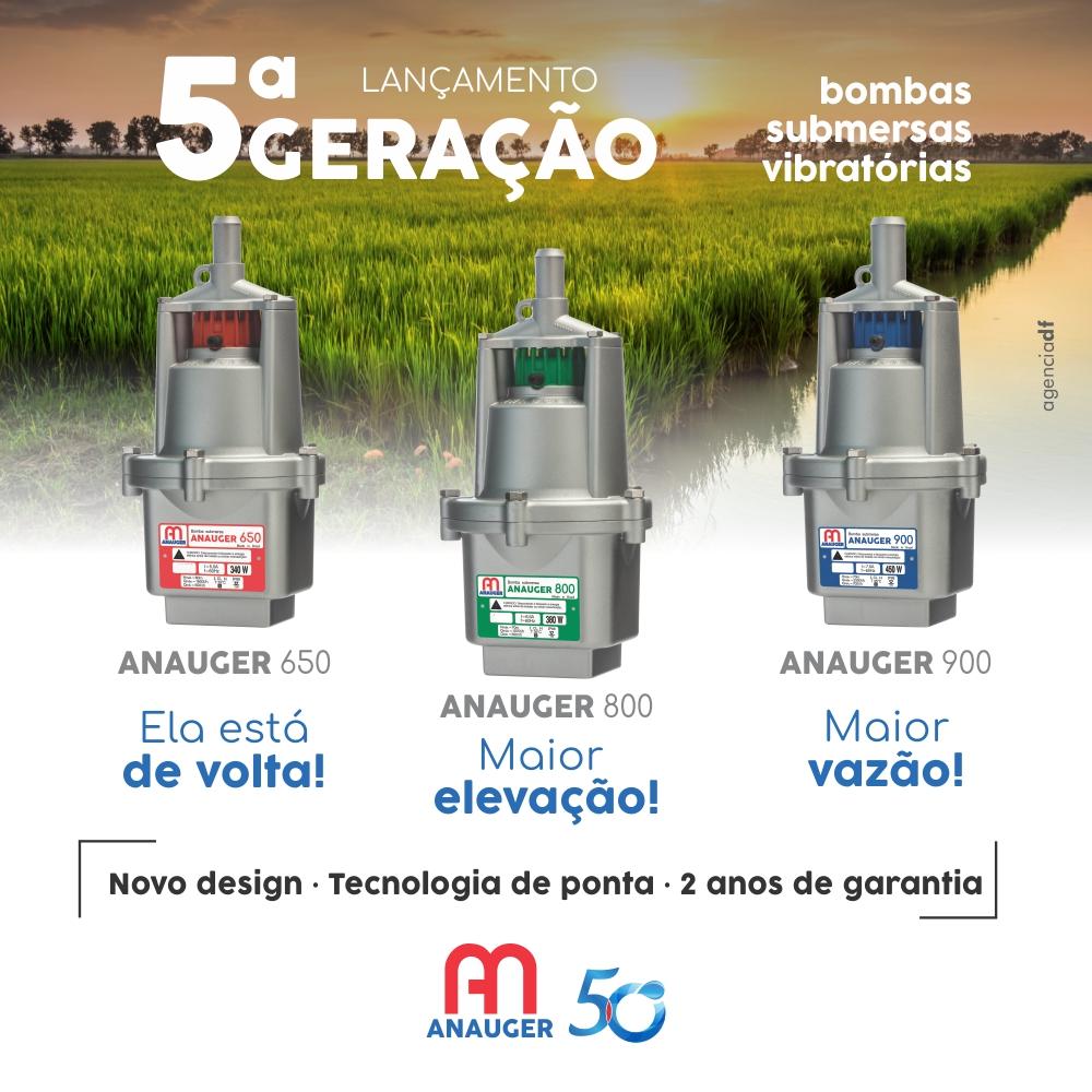 5ª GERAÇÃO DE BOMBAS VIBRATÓRIAS ANAUGER É LANÇADA NO MERCADO  4f397a6eac9